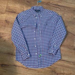 Ralph Lauren Plaid Long Sleeve Shirt